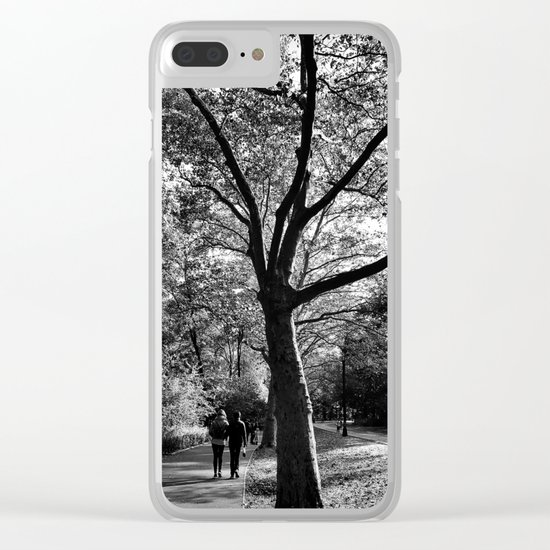 bw Central Park Clear iPhone Case