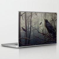 raven Laptop & iPad Skins featuring Raven by Raven-Art