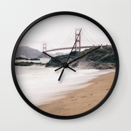 Baker beach Wall Clock