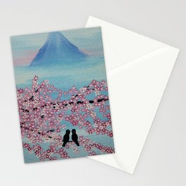 love in japan Stationery Cards