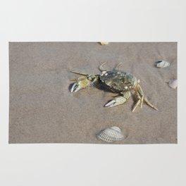 Beach Crab Rug