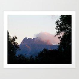 Cradle Mountain Sunrise Art Print