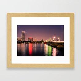 Harvard Bridge Framed Art Print