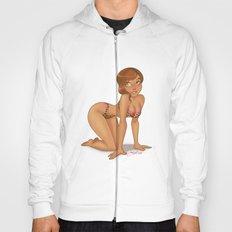 print lingerie Hoody