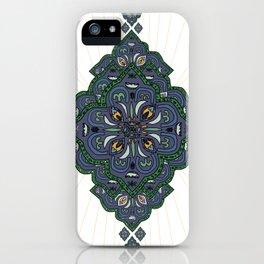 Lively Earth Mandala - v.2 iPhone Case