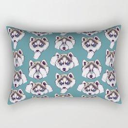 No Evil Husky Rectangular Pillow