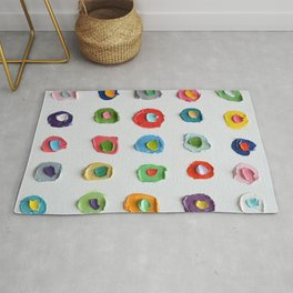 Concentric Polka Daubs 2 Rug
