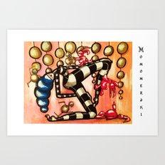 Bell Dancer Art Print