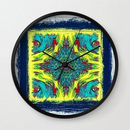 Rustica Mandala (10) Wall Clock
