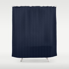 Conor Mcgregor SuiT F*ck You Navy Shower Curtain
