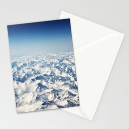 Pyrenees Snow Mountain Landscape Stationery Cards