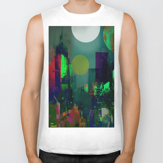 Electric city Biker Tank