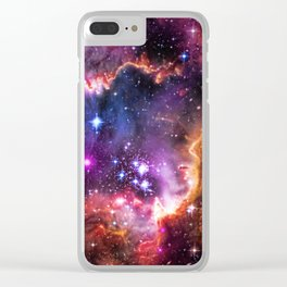 Small Magellanic Cloud's Starry Wingtip Clear iPhone Case