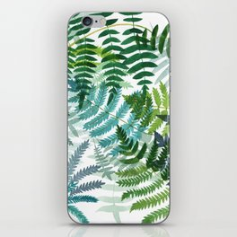 Ferns iPhone Skin