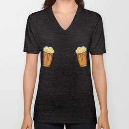 Beer Glass Could Contain Craft Beer Gift Unisex V-Neck