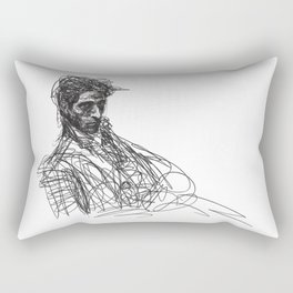 A DOODLE OF ADRIEN Rectangular Pillow