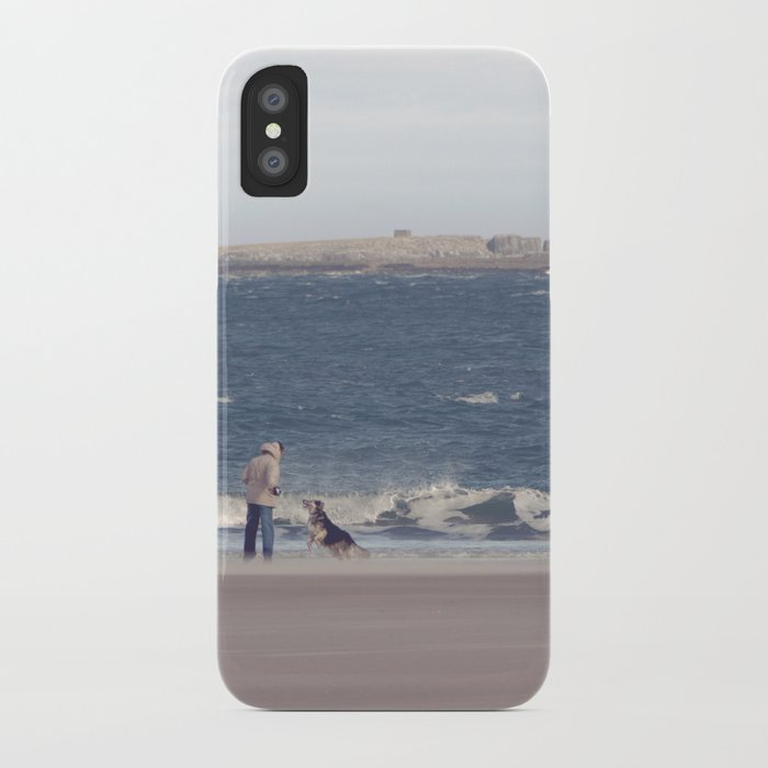 fishing with dogs... iPhone Case