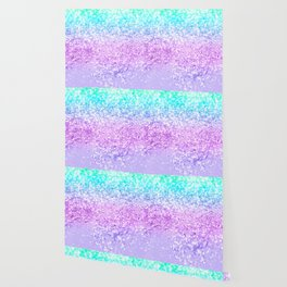 Unicorn Girls Glitter #9 #shiny #decor #art #society6 Wallpaper