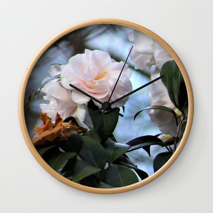 Flower No 3 Wall Clock