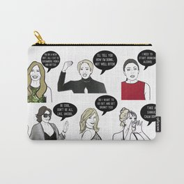 New Yorkers Carry-All Pouch