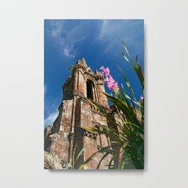 Gothic chapel Metal Print