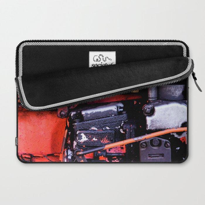 Dirt and Oil Synergy Laptop Sleeve