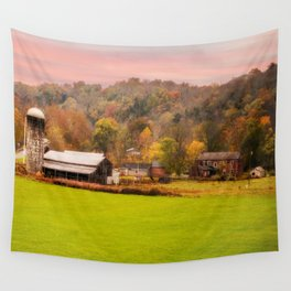 Rolling Hills Kentucky Farm Wall Tapestry
