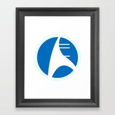Mon Cal Ship Framed Art Print