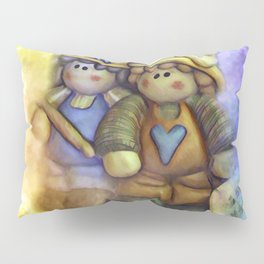 Friends On The Road Less Traveled Pillow Sham