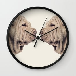 Just Shar-pei! Wall Clock