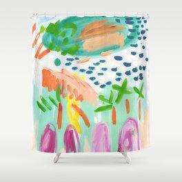 Garden Isand Shower Curtain