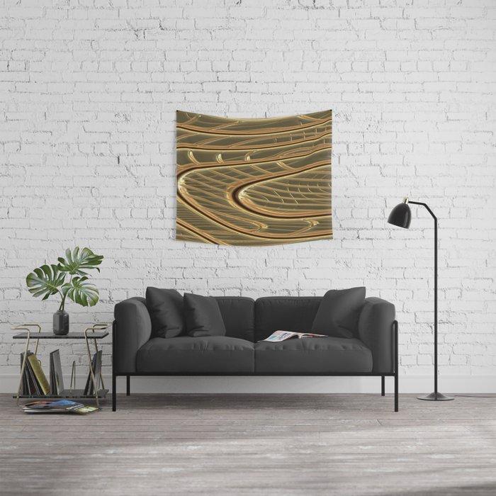 modern metalArt Wall Tapestry