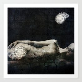 Here where a dream sleeps Art Print