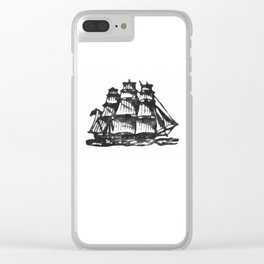 Merchant ship Clear iPhone Case