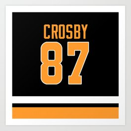crosby 87 Art Print