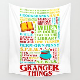Granger Things Wall Tapestry