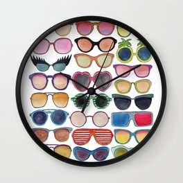 Sunglasses by Veronique de Jong Wall Clock