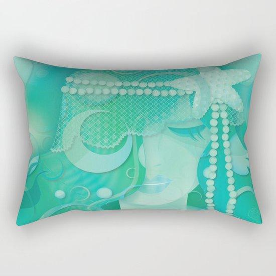 Mermaid III - Ice Queen Rectangular Pillow