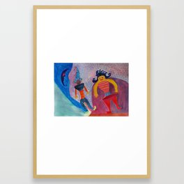 Moon's Friends Dream State Framed Art Print