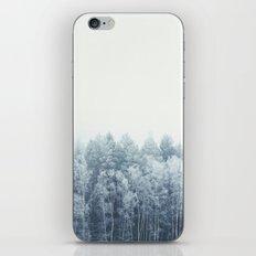 Frosty feelings iPhone Skin