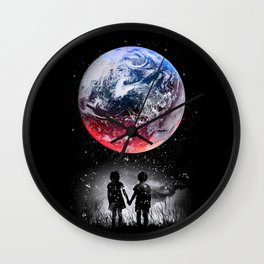 Beautiful Earth Wall Clock