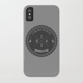The Cracked Seal of Officialness iPhone Case