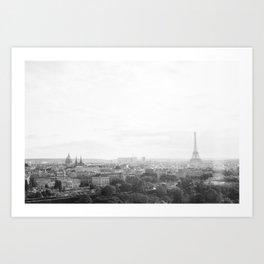 Paris No. 1 Art Print
