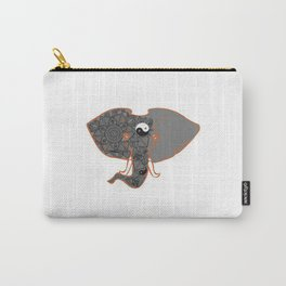 Mandala Elephant Carry-All Pouch