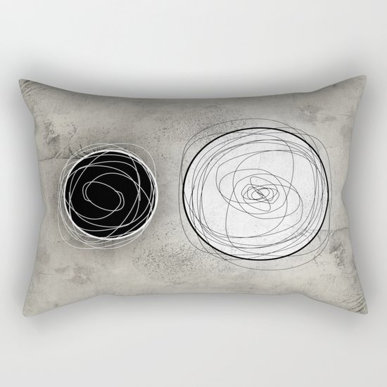BFF-B&W Rectangular Pillow