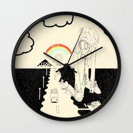 WHAT A WONDERFUL WORLD Wall Clock
