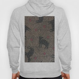 African Tribal Pattern No. 93 Hoody