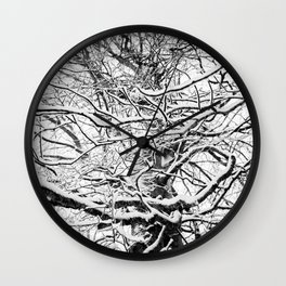 Winter Wonderland 3 Wall Clock