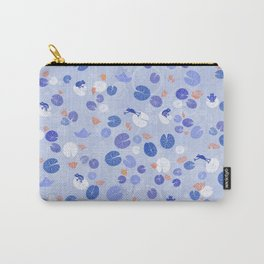Lilypads and Frogs Carry-All Pouch