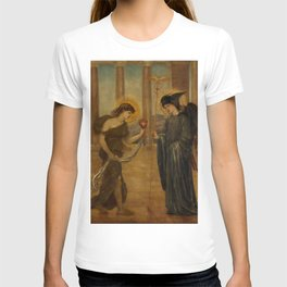 "Edward Burne-Jones ""Cupid and Psyche - Palace Green Murals - Psyche entering the Portals of Olympus"" T-shirt"
